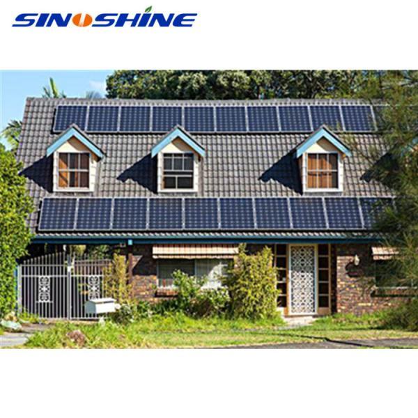 Quality Easy installation 3kw off grid hybrid solar wind power system for sale