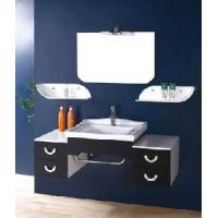 Buy cheap Black White Wall Mounted Ceramic Bathroom Accessory 8003 from wholesalers