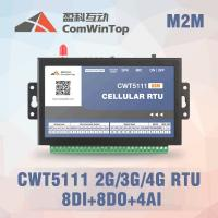 Buy cheap 9 - 28V DC Internet Of Things Gateway GPRS RTU Controller With 8Di 8Do 4Ai product