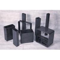 Buy cheap Black Galvanized Rectangular Carbon Steel Hollow Section ASTM 252, JIS G3444 from wholesalers