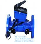 RBBW DN50-1000 District Ultrasonic Water Meter(Bulk Water Meters), smart water metering, battery