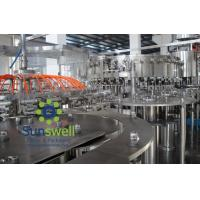 Automated soda water bottling 3-in-1 carbonated filling monoblock machines and equipment Manufactures