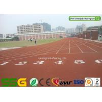Weather Resistant Synthetic Running Track for Schools Sport Surface Manufactures