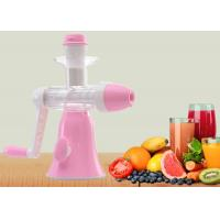 Buy cheap Small Size Screw Squeeze Manual Juice Maker Ice Cream Maker Power Free product