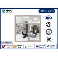 Wholesale Gray Windproof Heat Resistant Windows , Steel Fire Rated Pass Through Window from china suppliers