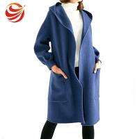 Buy cheap Long Style Women'S Ankle Length Winter Coat With Hood And Big Pocket from wholesalers