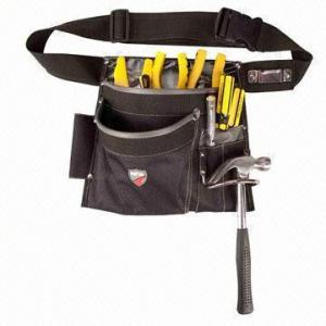 China 5 Pockets Framer's Tool Belt Bag, Tool Pouches, Waist Belt on sale