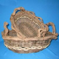 Buy cheap rattan basket from wholesalers