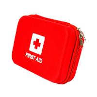 Buy cheap Outdoor Portable First Aid Kit Case EVA PU Surface Zipper Closure For Camping from wholesalers
