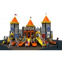 Buy cheap new designe colorful castle  slide  and  outddoor playground equipment for kids from wholesalers