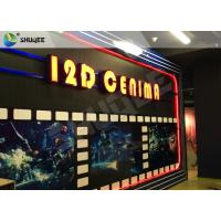 Wholesale Entertaining 5D Cinema Seats With Motion Effect / Electric System For Amusement Park from china suppliers