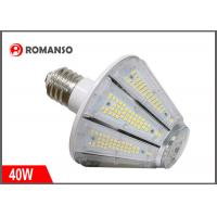 40w E26 LED Corn Bulb 6000Lm 6500K Cool White For Post Top Garage Lighting Manufactures
