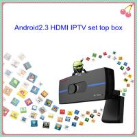Buy cheap wireless wifi online android2.3 HDMI IPTV set top box from wholesalers