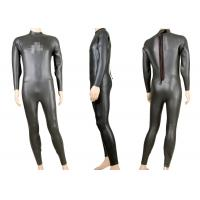 Buy cheap Smooth Skin Neoprene 3mm Long Sleeve Triathlon wetsuit, Scuba Diving Suits YKK Zipper from wholesalers