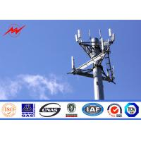 Buy cheap 132kv 30 Meter Mono Pole Tower For Mobile Transmission Telecommunication from wholesalers