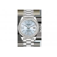 Buy cheap Newest Buy Cheap Rolex  Lady-Datejust 28 Oyster Perpetual Oyster, 28 mm, platinum and diamonds 279136RBR Watches Sale from wholesalers