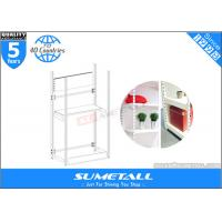 4 Post Metal Storage Furniture Shelves / Warehouse Store Display Stands Customized