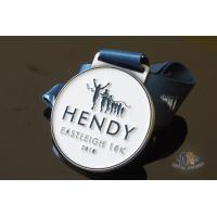 Wholesale Run Run Or 10K Marathon Custom Award Medals HENDY Sports Logo Filling Soft Enamel from china suppliers