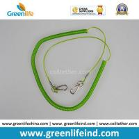 Buy cheap Light Green Retractable Fishing Tool Tether Lanyard for Fishing Rod from wholesalers