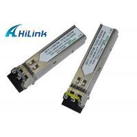 Buy cheap CWDM SFP Transceiver Fiber Optic Interface Module Low Power Dissipation 1260 - 1610nm product