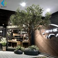 Wholesale Green Branches Faux Olive Tree Natural Color For Indoor Decoration from china suppliers