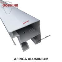 Buy cheap anodized / powder coated black aluminium alloy extrusion profile for south africa from wholesalers