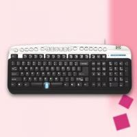 Buy cheap Computer Keyboard with Hot Keys and User-Friendly Design for Anti-RSI (Repetitive Stress Injury) from wholesalers