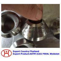 Wholesale ASTM A182 F904L Weldolet from china suppliers