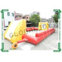 Buy cheap Fun Inflatable Sport Game Inflatable Football Field / Football Court from wholesalers
