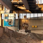 Buy cheap 220V Glass Bricks Concrete Industry Gantry Crane from wholesalers