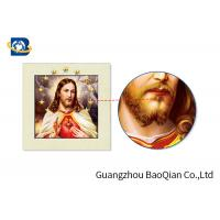 Buy cheap 30 X40 CM And 0.6 MM 5D Pictures For Jesus / Custom Lenticular Printing from wholesalers