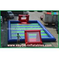 Buy cheap Durable PVC Tarpaulin Inflatable Sports Games / Kids Inflatable Soccer from wholesalers