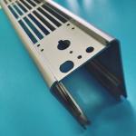 Buy cheap Titanium Plating Aluminum Heatsink Extrusion Profiles Waterproof Heater Case Drilling from wholesalers
