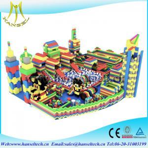 Hansel Assessed supplier block building games kids entertainment equipment Manufactures