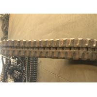 Buy cheap 36 Link Rubber Excavator Tracks , Replacement Rubber Tracks For Excavators product