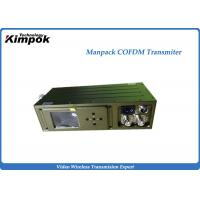 Buy cheap HD-SDI Wireless COFDM Video Transmitter for Broadcast and Command Vehicle from wholesalers