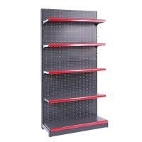 Buy cheap Grocery Shop / Supermarket Steel Rack , Customized 5 Tier Metal Shelving from wholesalers