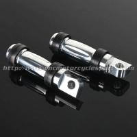 Buy cheap Aluminum Motorcycle Foot Pegs Front  Rear Position Without Clamps from wholesalers