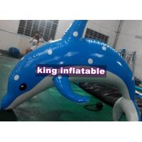 Buy cheap Heat Sealed 3m Inflatable Dolphin Water Toy With CE UL SGS Approved from wholesalers