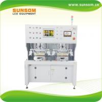 Buy cheap Double work stage constant temperature hot press boning machine(the pre-press) XCH80-B1 for lcd touch screen repair from wholesalers