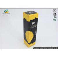 Buy cheap Fancy Empty Hand Cream Cosmetic Paper Box With Hot Stamping Logo from wholesalers