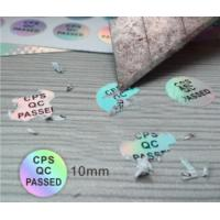 Ultra 3d Hologram Stickers No Discoloration With Customized Holographic Manufactures