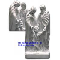 Wholesale Marble Statue of the Holy Family from china suppliers