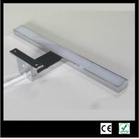12W Classical Aluminum 	Bathroom Mirror With Led Lights For Hotel Low Consumption Manufactures