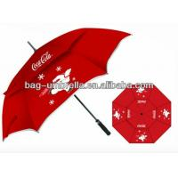 Buy cheap 29 inch auto open straight golf umbrella with wind vent from wholesalers