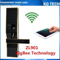 Buy cheap biometric fingerprint door lock KO-ZL901 foraccess control system withpassword+fingerprint from wholesalers