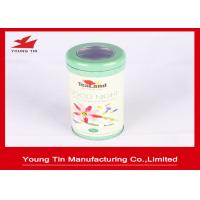 Buy cheap Round Cylinder Gourmet Tea Tin Box from wholesalers