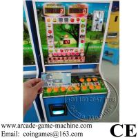 Accept Paper Money, Popular In Africa Roulette Jackpot Small Arcade Cabinet Slot Gambling Games Machine