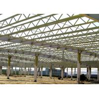 Buy cheap Truss Roof Steel Structure Warehouse For Factory Buildings Construction from wholesalers