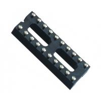 Buy cheap IC Socket 2*10P 180° H=3.0 Round female Header 7.62 with center bar from wholesalers